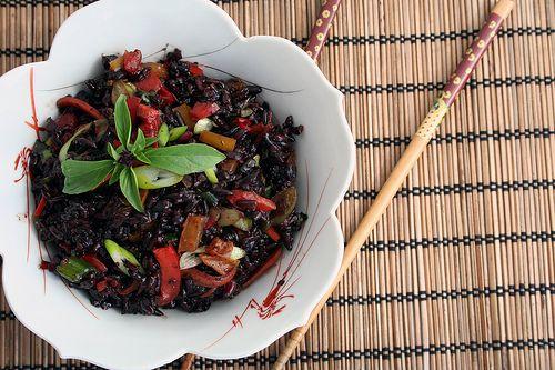 Thai Forbidden Black Rice Salad by Dayna McIsaac, via Flickr