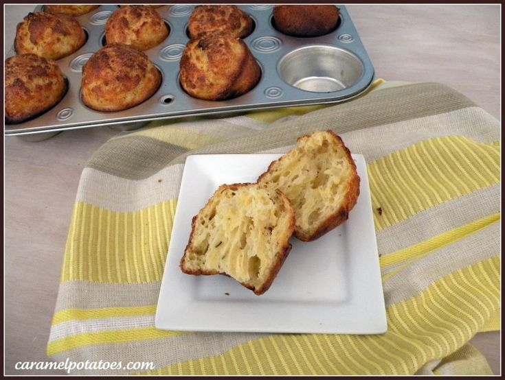 Cheesy Herb Popovers | Food | Pinterest