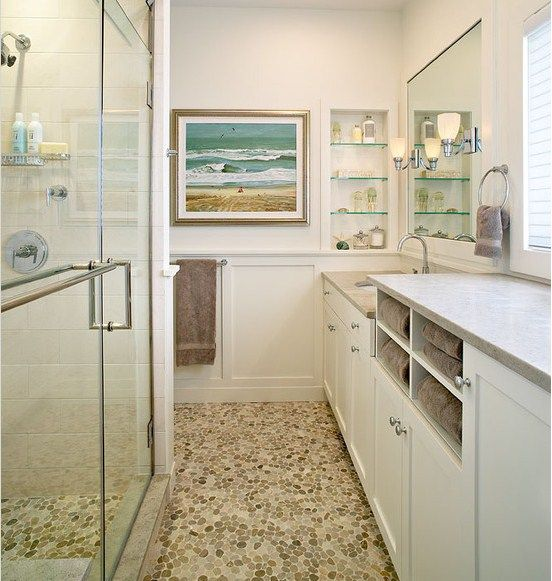 Towel storage master bath remodel ideas pinterest