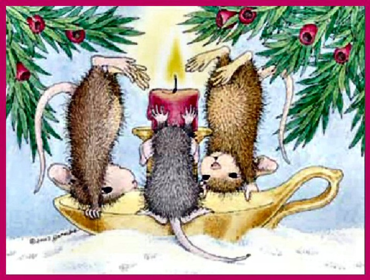 House Mouse Christmas Images
