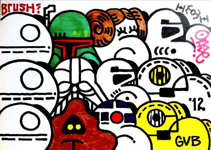 Oase. God's Vicious Babies | Graffiti | Pinterest