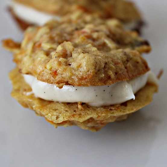 Carrot Cake Cookies | Books Worth Reading | Pinterest