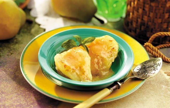 Vanilla baked pears | Straight to my hips | Pinterest