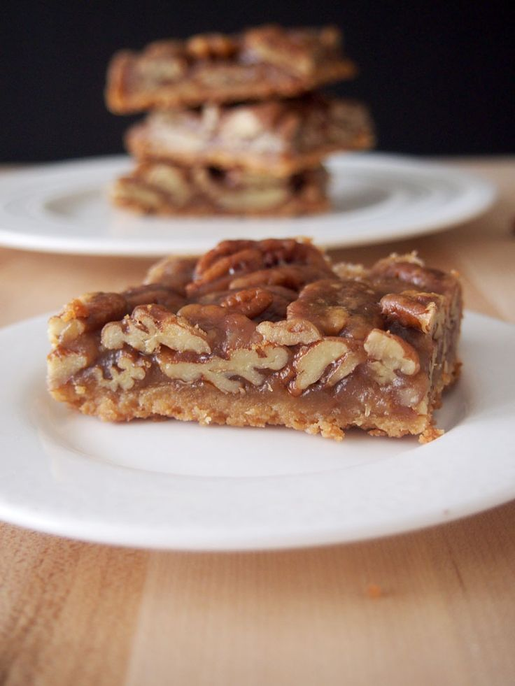 Pecan Bars-it is possible that these could be similar to THOSE pecan ...