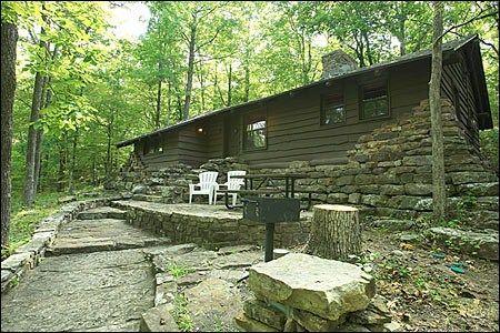 cabins devil 39 s den state park arkansas home made