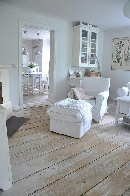 Distressed wood floors beach house pinterest for Distressed wood flooring