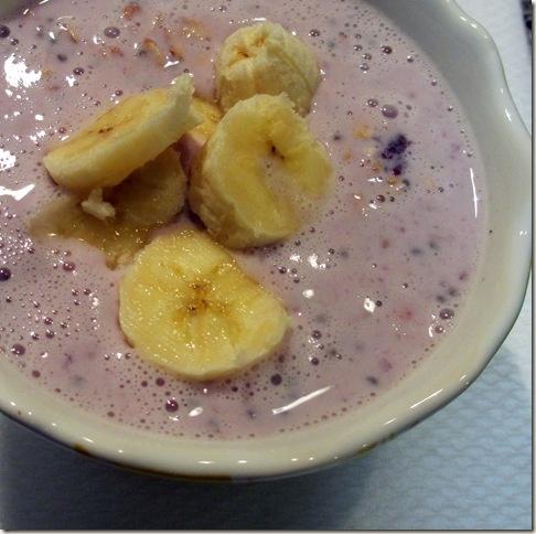 Blueberry Banana Overnight Oatmeal | YUMMM! | Pinterest