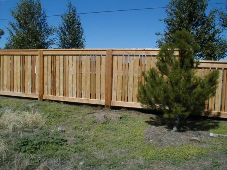 Fence semi private wooden ideas pinterest