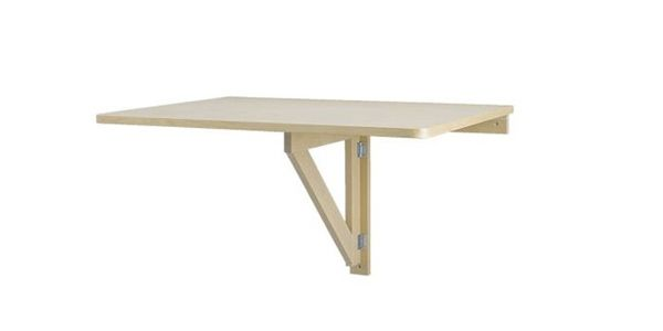 Small Space Products IKEA Norbo Drop Leaf Folding Table