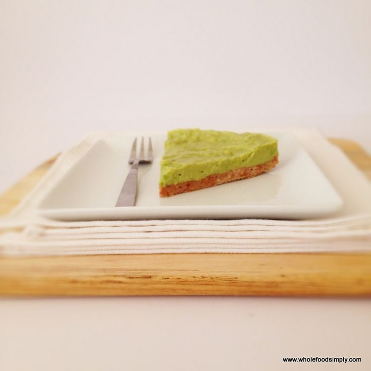 handful of ingredients, a minute of your time. This lime tart couldn ...