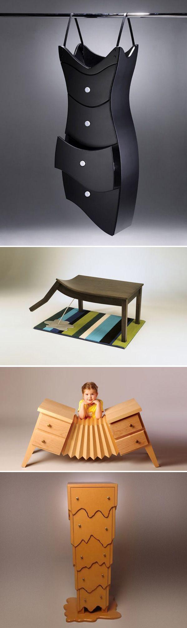 weird furniture cool bizzare random pinterest