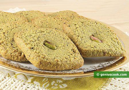 Pistachio Cookies Mona Lisa Recipe | Baked Goods | Genius cook ...
