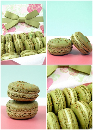 Pistachio Macarons | Delicious Things | Pinterest
