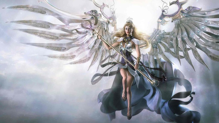 woman-warrior-angel   I love Angels   Pinterest
