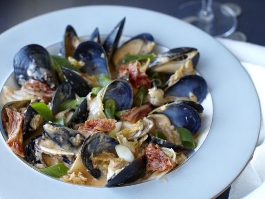 ... Curry Mussels with Kimchi Puree from 'The Kimchi Cookbook' | Reci