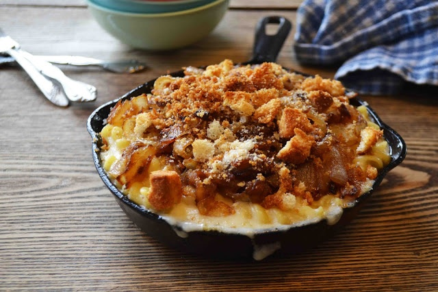 French Onion Soup Macaroni and Cheese | Recipe