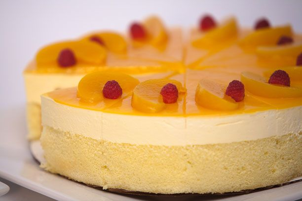 Orange Mousse Cake By Shireen Anwar