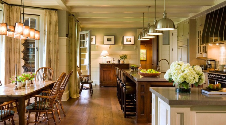 Unique Wainscot. This is so homey.