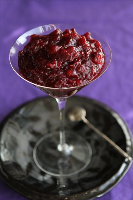 Boozy Cranberry Sauce Recipe with Port Wine & Cloves by CookinCanuck ...