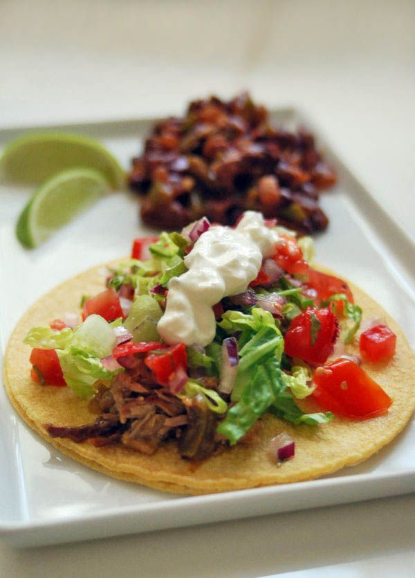 cooked pork carnitas shredded pork tacos slow cooked pork tacos citrus ...