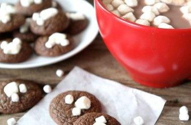 Mini Hot Cocoa Cookies