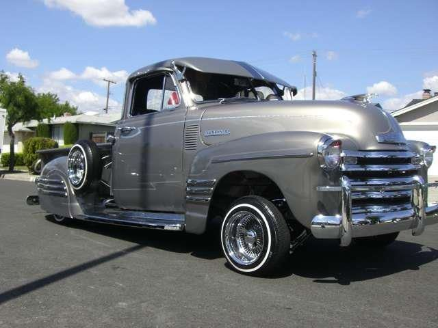 Lowrider Trucks Chevy 1947-1953 chevy truck  Lowrider Chevy Truck Drawings
