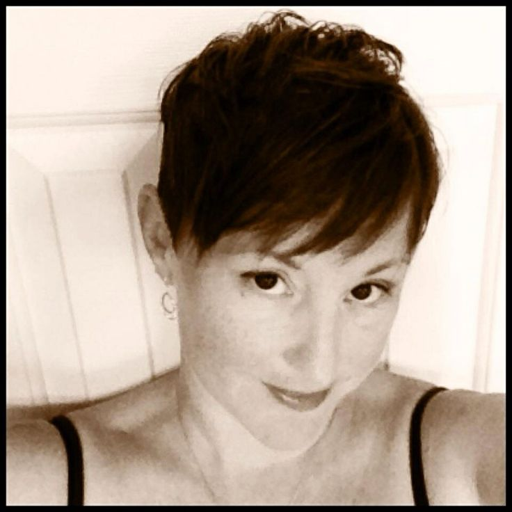 Short Pixie Cut with Shaved Side