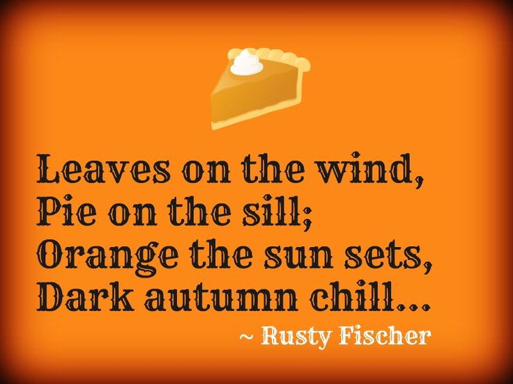 Autumn chill... A Halloween poem | Halloween and Horror | Pinterest
