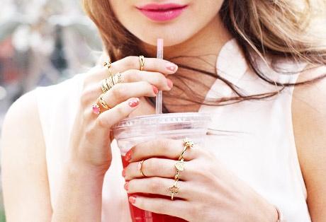 Ring True ---  Wear multiple rings on each finger!