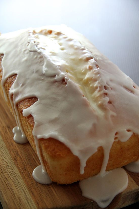 Meyer Lemon Pound Cake Recipe, this is just sinful and you want to ...