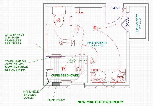 Bathroom Floor Plans With Walk In Shower And No Tub Bathroom Design