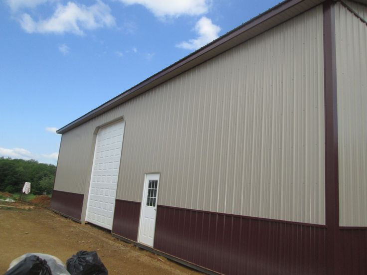 Pin by pioneer pole buildings inc on residential pole for 14 wide garage door