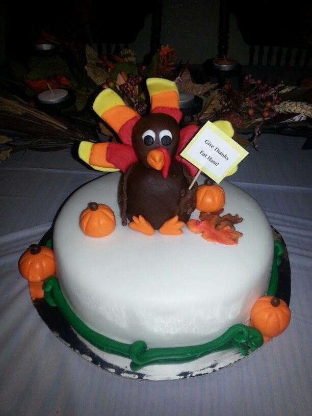 Thanksgiving turkey cake | My cakes! | Pinterest