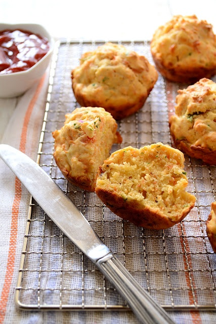 Spiced Red Carrot Muffins   Foodie - Breads & Savoury Bakes   Pintere ...