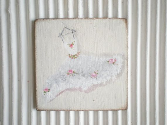 Tutu  Painting  Dollhouse 1 Inch Scale by cinderellamoments, $6.00 sold