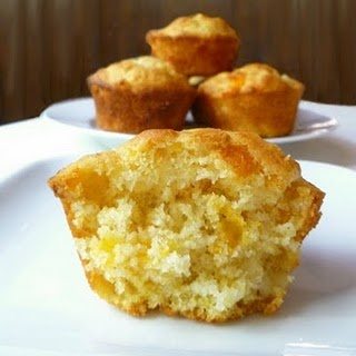 """Corn and Cheddar Muffins 