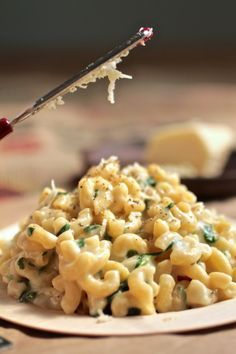 Havarti Spinach Mac and Cheese | Recipes | Pinterest
