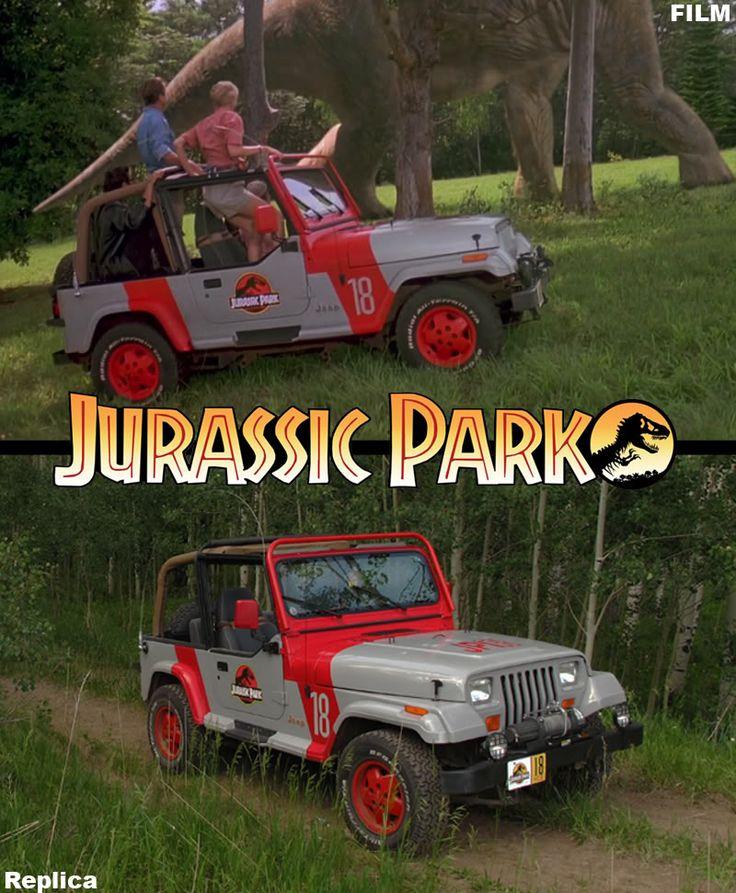Jurassic Park Jeep Jurassic Park Pinterest