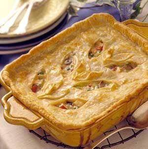 Deep Dish Chicken Pie | Cookbook - Chicken | Pinterest