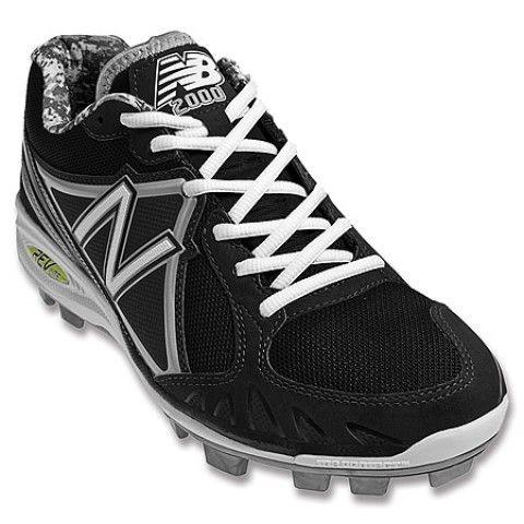 Mens New Balance Shoes MB2000 Low Nubuck Mesh Black Silver