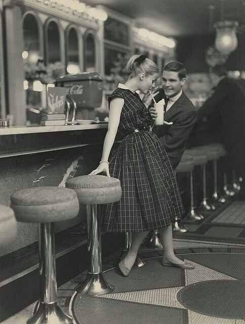 Bar coule 50 s vintage