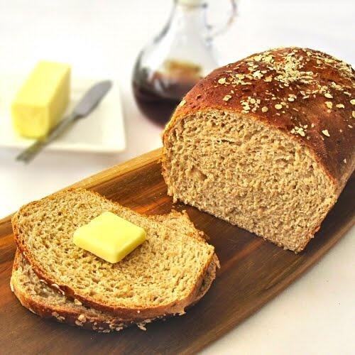 Maple-Oatmeal Bread | baking (not desserts) | Pinterest