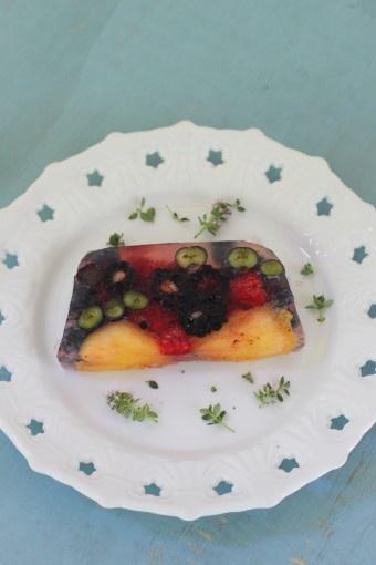 Summer fruit terrine | Recipes that sound so good! | Pinterest