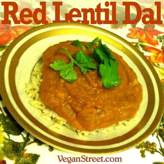 Red Lentil Dal | Fave food and drinks | Pinterest