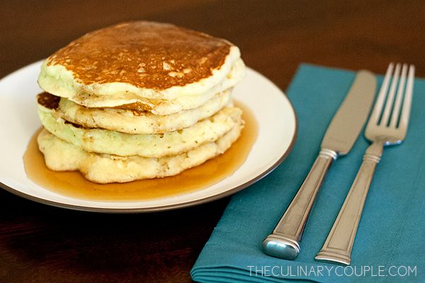 Fluffy Pancakes | all things sweet | Pinterest