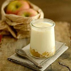Orchard Fruit Yogurt and Apple Vanilla Compote