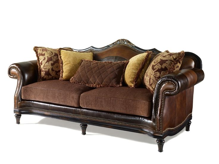 Western Style Furniture Upholstered Quality Sofa