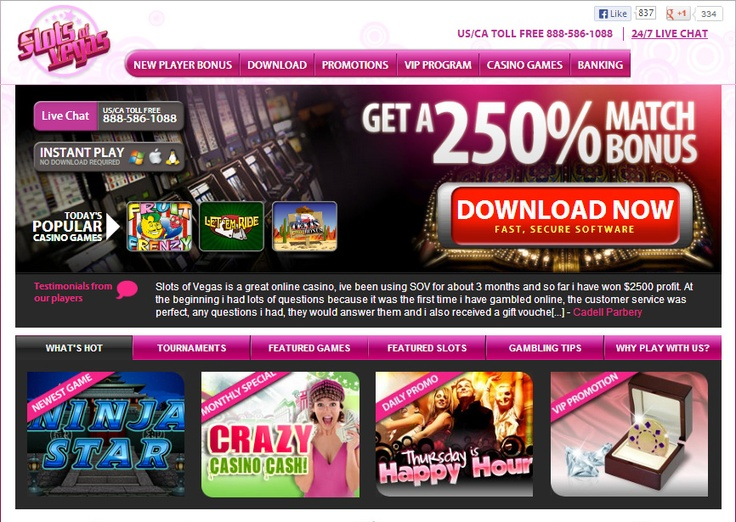 play free slots win real money no deposit required