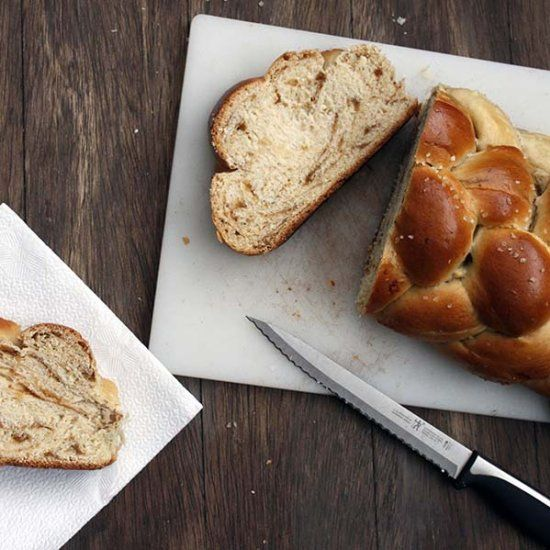 this Fig, Olive Oil, & Sea Salt Challah is ridiculously special.