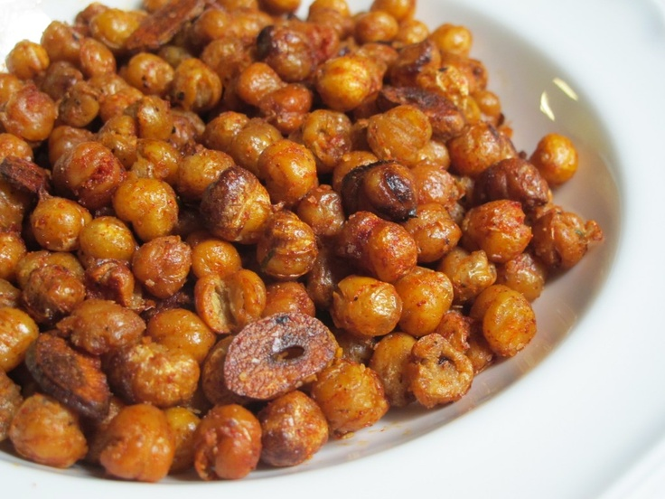 Smoky Fried Chickpeas | I Cook | Pinterest